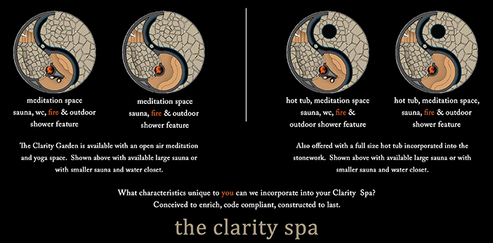Clarity Spa floorplans