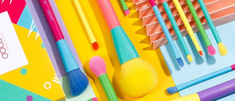 15pcs Makeup Brushes Professional Powder Foundation Eyeshadow Brush Set