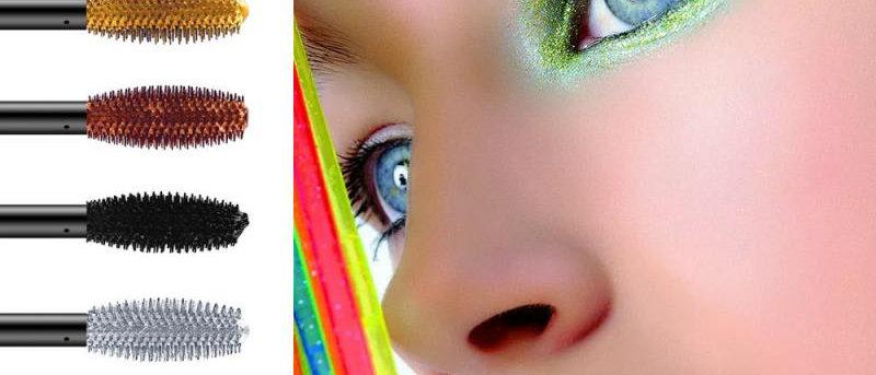 Color Waterproof Long Lasting Fast Dry Mascara