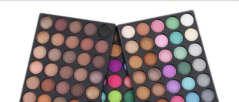 120 Color Nude Matte Shimmer Eyeshadow Pallete Glitter