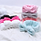Thumbnail: Flannel Cosmetic Headbands Soft Bow Elastic Hair Band