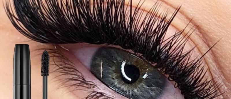4d Silk Fiber Mascara Thick Eyelashes