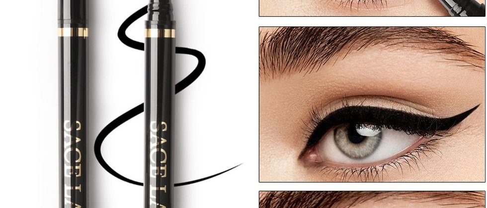 Liquid Eyeliner Waterproof Pencil Long Lasting Make Up Smudge-Proof Pen