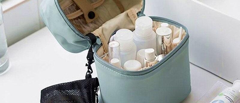 UOSC Makeup Waterproof Nylon Travel Bag