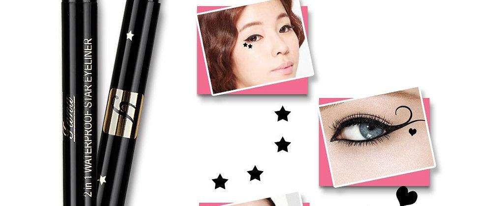 1PC  Double HeadSeal Eyeliner Shape Stamper