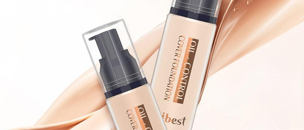 7 Colors Foundation Professional Face Makeup Full Coverage Base Oil-Control