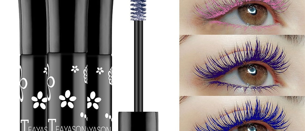 Color Mascara Waterproof Fast Dry Eyelashes Curling