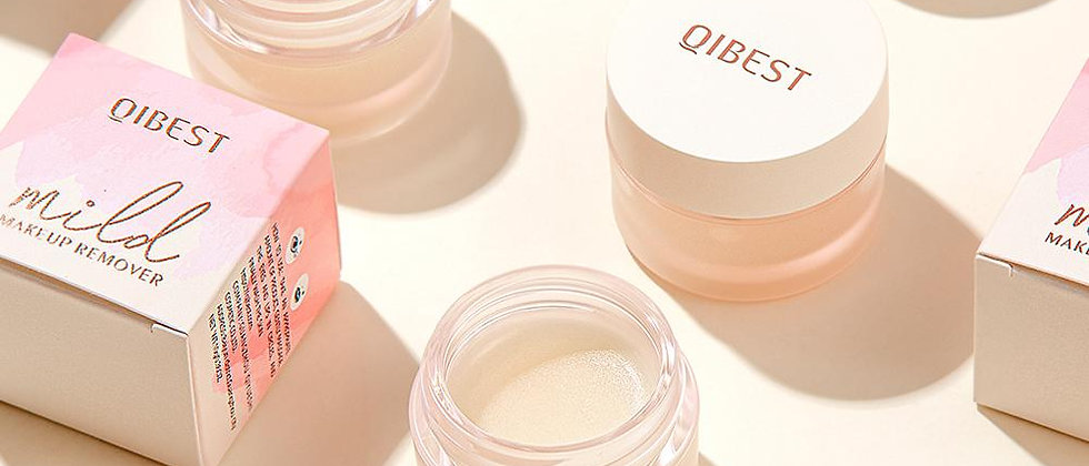 QIBEST 43g Makeup Cleansing Balm Facial Cleanser