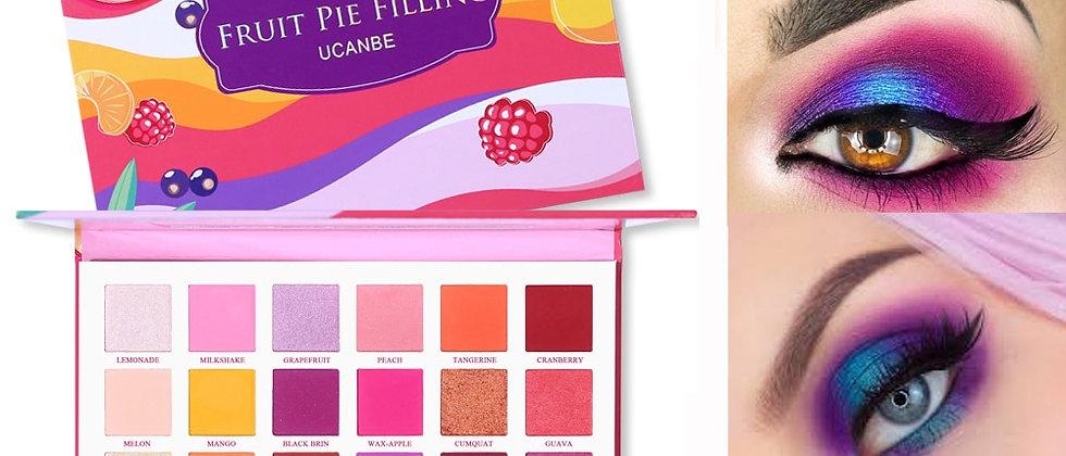 30 Colors  Makeup Palette Fruit Pie Filling Eye Shadow Kit