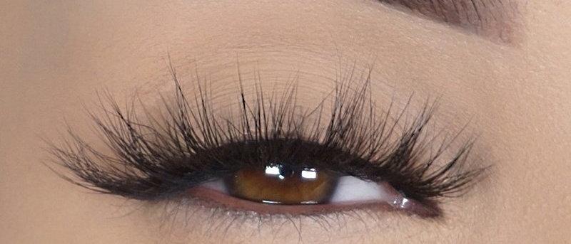 5 Pairs 3d Lashes 25mm Lashes 3D Mink Eyelashes  Thick Fluffy False Eyelashes