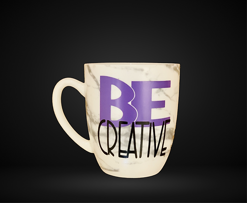 BE CREATIVE MUG