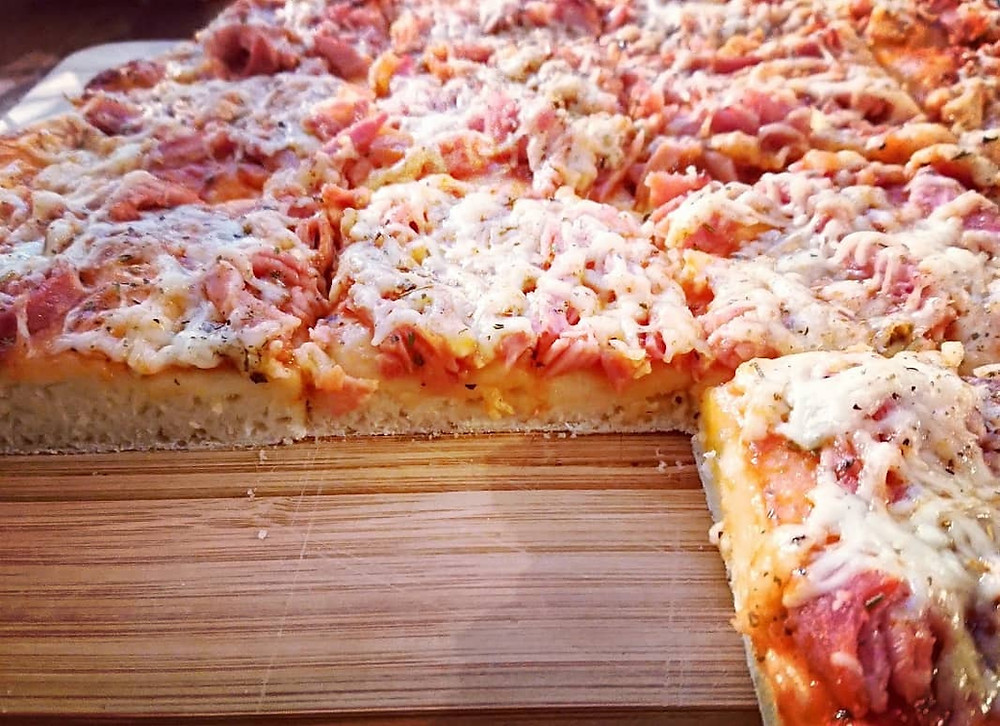 Pizza express au Companion de Moulinex