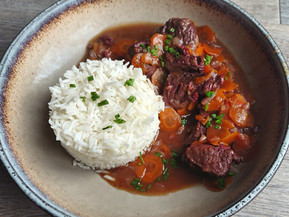 Bœuf Bourgui-carottes à la cocotte minute