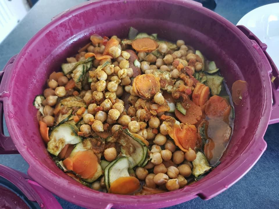 Couscous au micro minute Tupperware