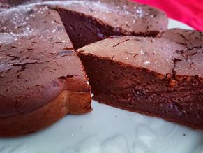 Gâteau au chocolat noir et mascarpone, recette de Cyril Lignac