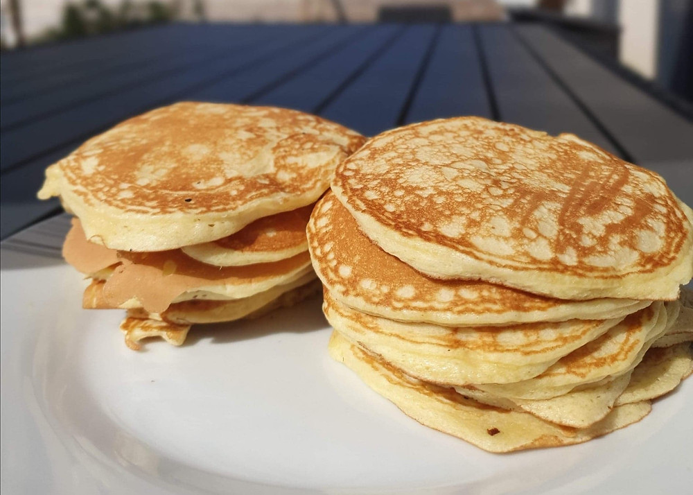 Pancakes au speedy chef 2 Tupperware