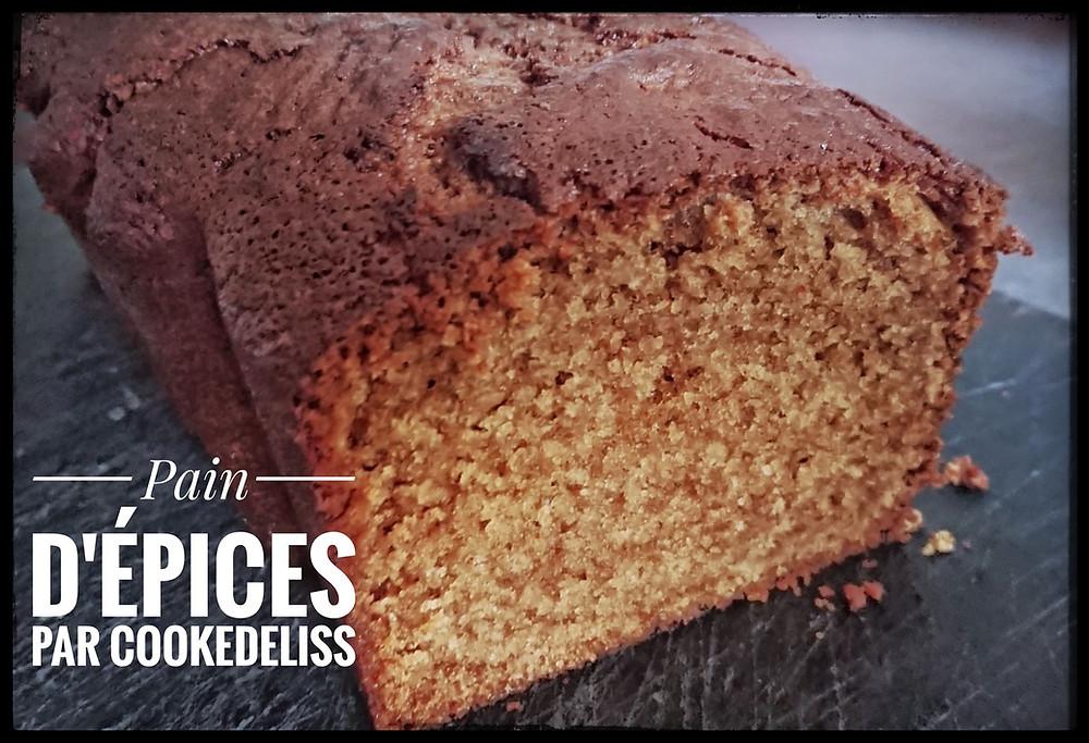 Pain d'épices façon cake moelleux