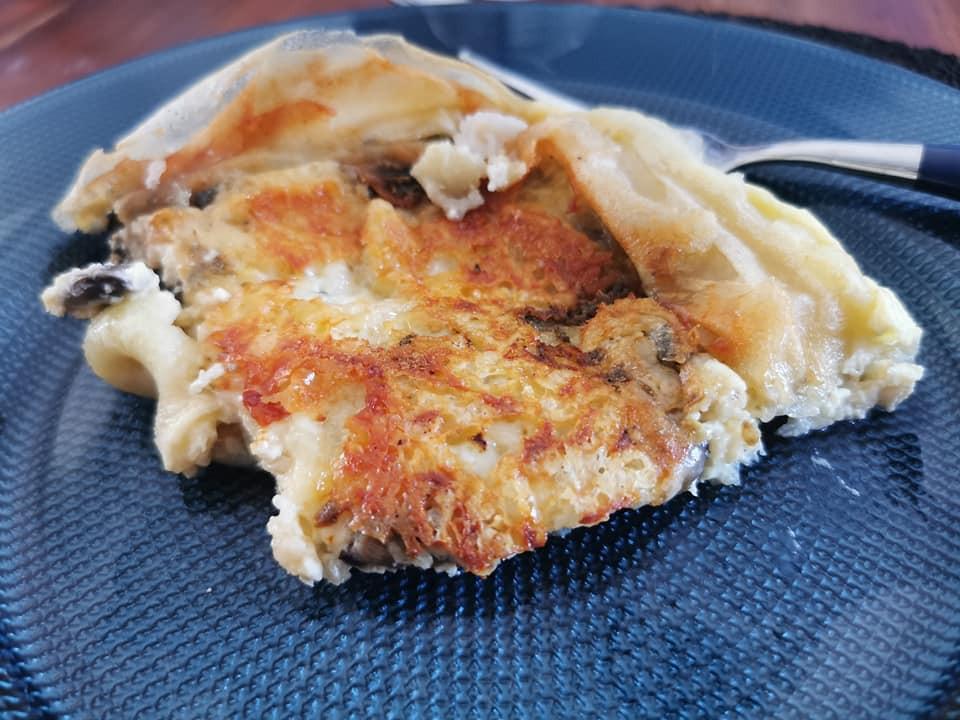 Part du croustillant Champignons Roquefort