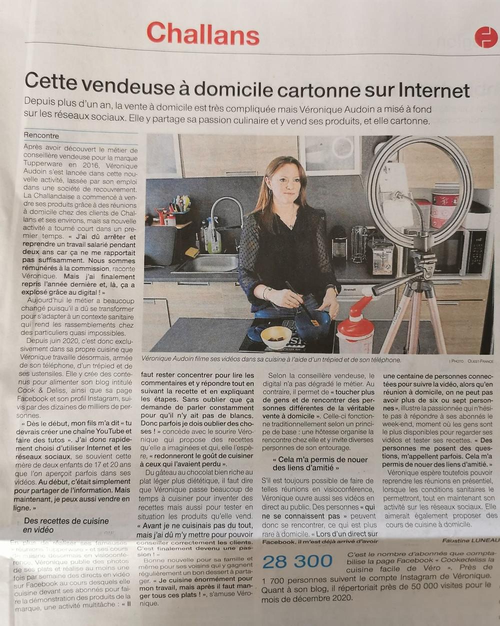 Véronique AUDOIN COOKEDELISS TUPPERWARE