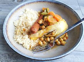 Couscous express au micro minute Tupperware