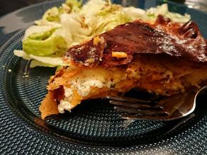 Tourte patate douce et fromage frais Tupperware