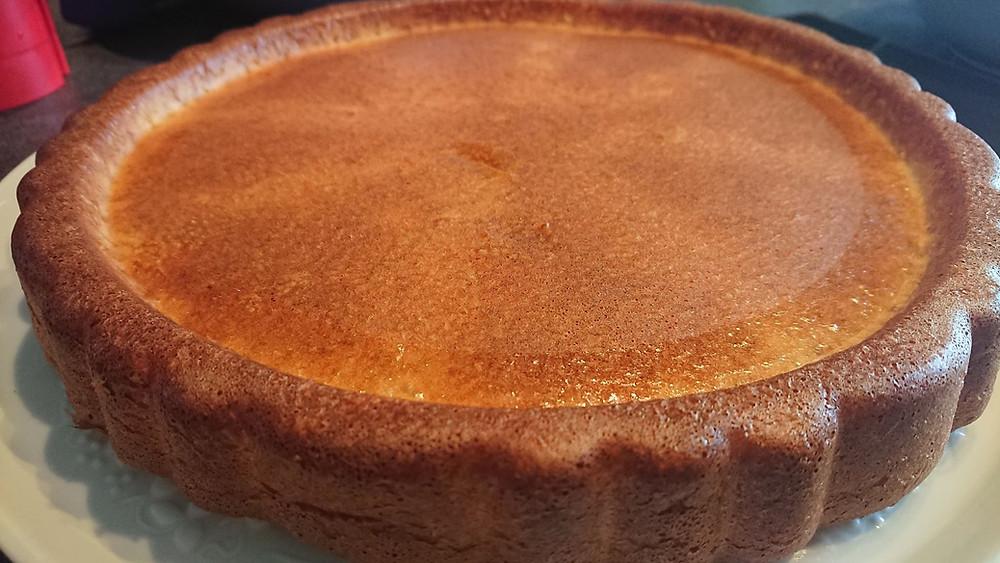 Fond de tarte moule à garnir, génoise