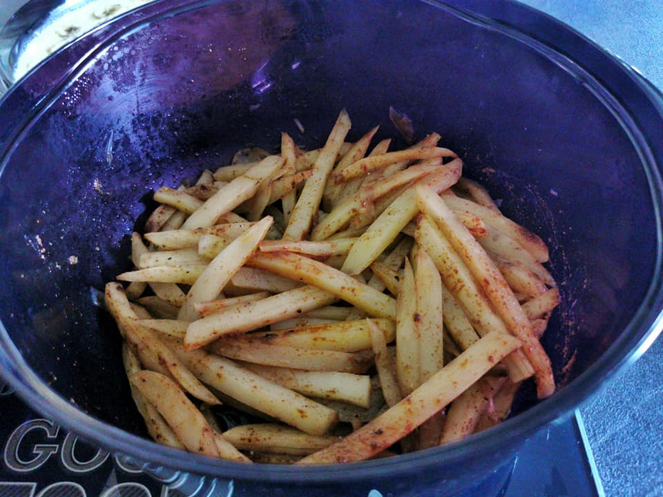 Potatoes au micro 3 Tupperware
