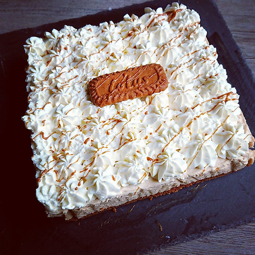Fiche recette : Carre speculoos chantilly mascarpone