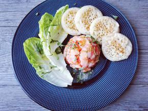 Recette express et facile des dômes crevettes et poivrons