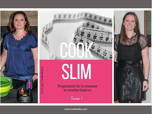 Ebook COOKSLIM -Tome 1