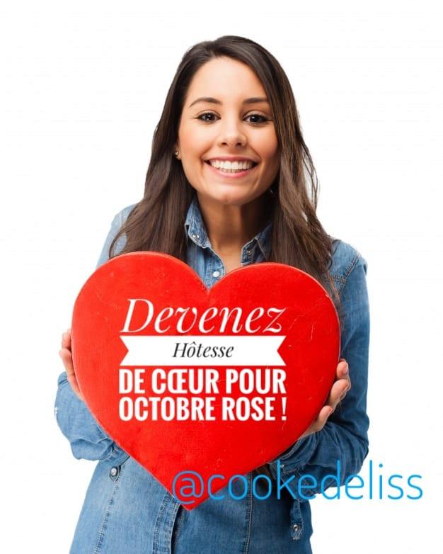 Devenez hôtesse de coeur Tupperware pour Octobre Rose