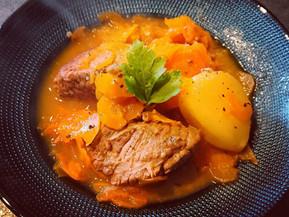 Bœuf aux carottes fondantes à la cocotte minute