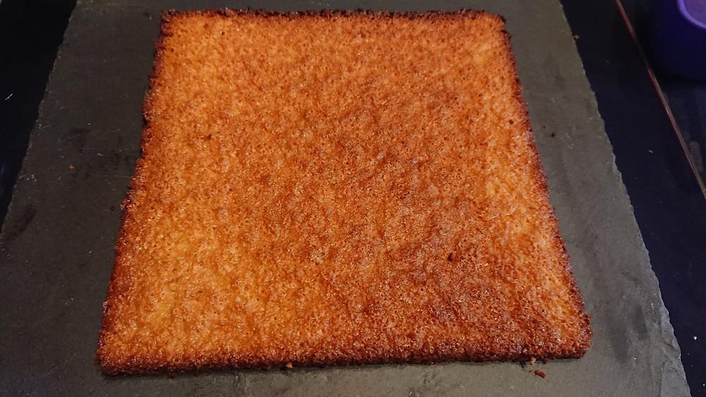 Biscuit amande, base du Bavarois