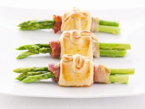 Feuilletés au jambon et asperges, recette Tupperware