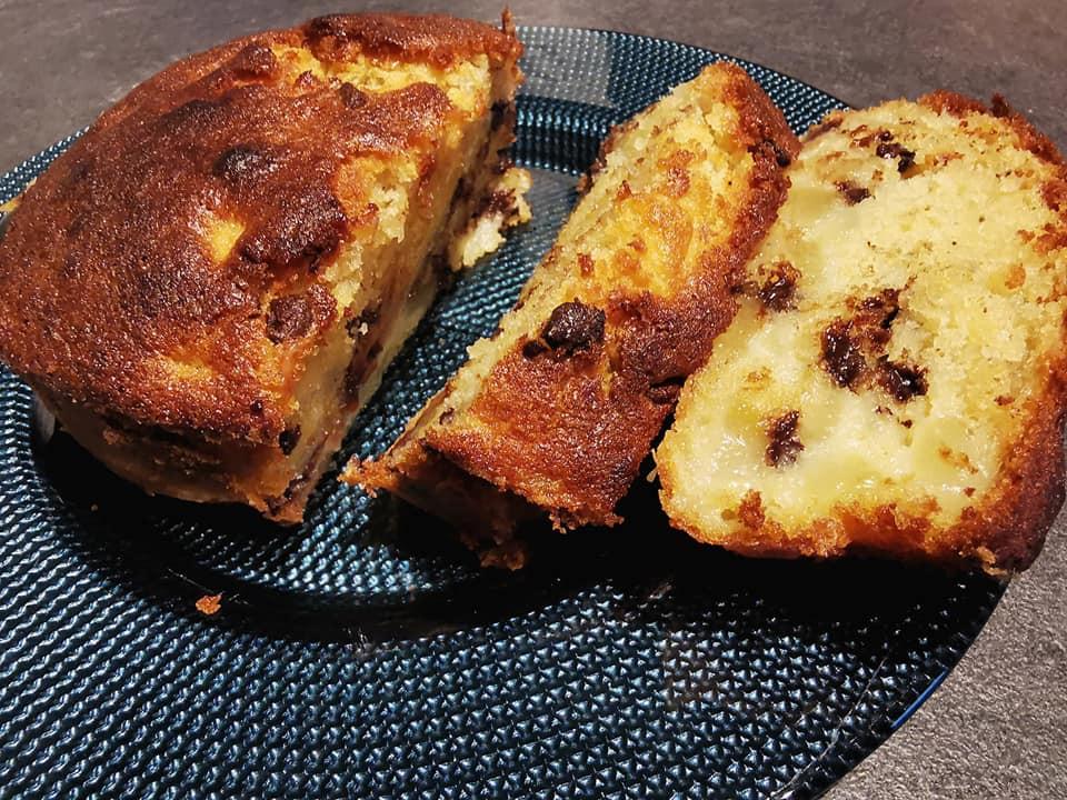 Gâteau poire chocolat dans la terrine ultra pro