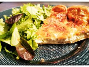 Recette de la tarte aux 3 fromages, roquefort, fromage blanc, emmental