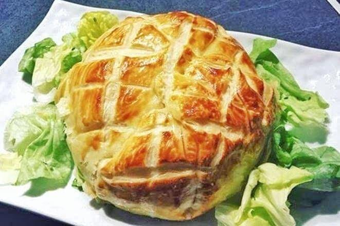 Camembert feuilleté