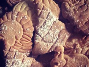 Biscuits de Noël traditionnels à la vanille