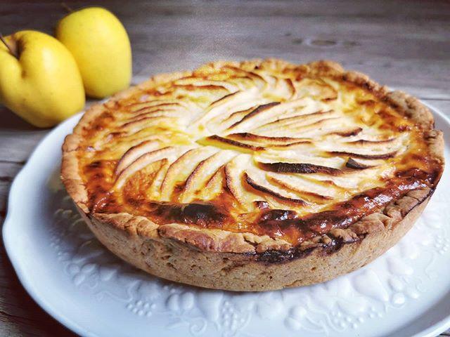 Tarte aux pommes alsacienne avec la pâte minute Tupperware
