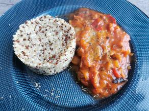 Quinoa au micro urban family Tupperware
