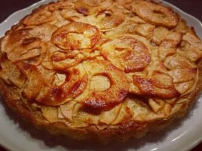 Gâteau léger invisible aux pommes fondantes