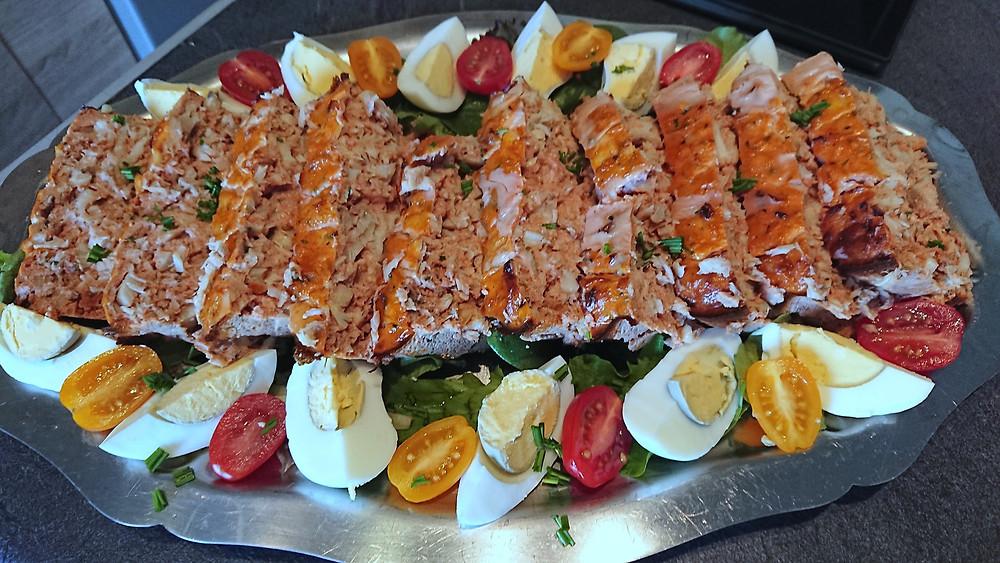 Pain de poisson à la provencale à la tomate et herbes de Provence