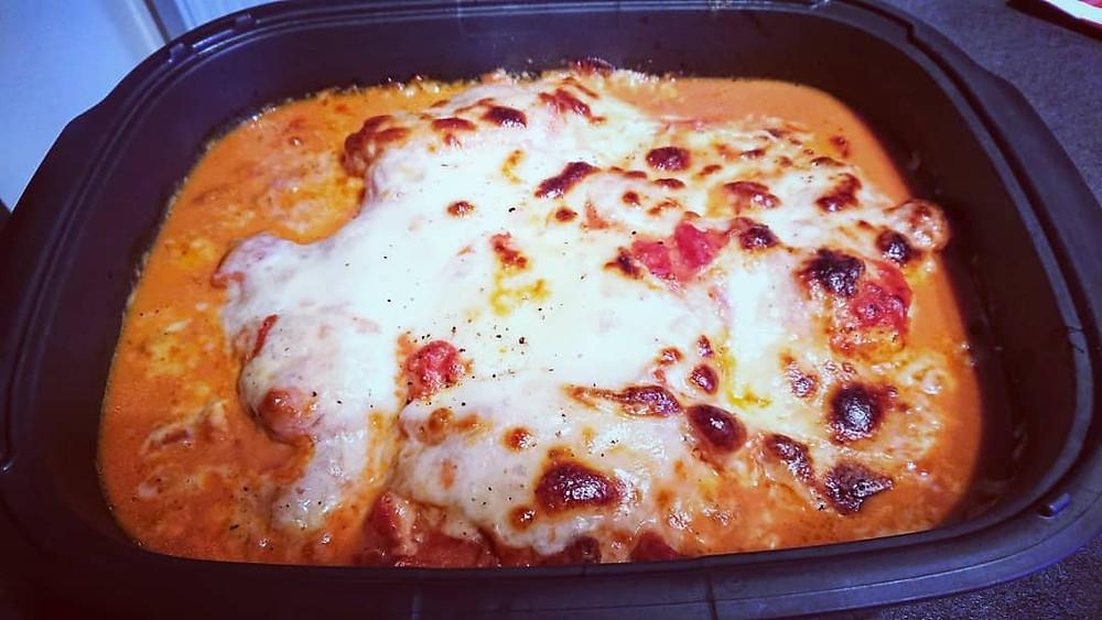 Poulet à l'italienne dans l'utra pro Tupperware, recette facile