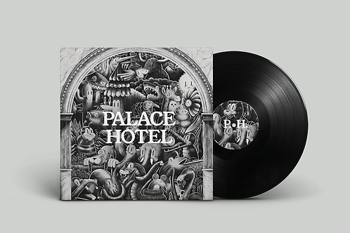 "Palace Hotel, ""Checked in"" Vinyl Record"