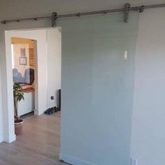 New Office Barn Door