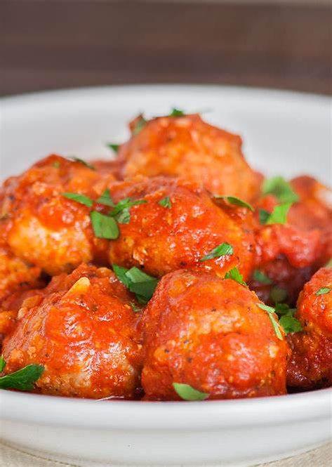 Meatballs & Italian Sauce