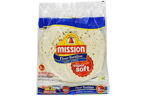 """Tortillas Flour 6x10"""""""