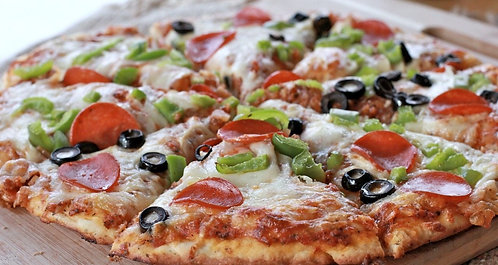 Ready to Cook Pizza - Freshly Made