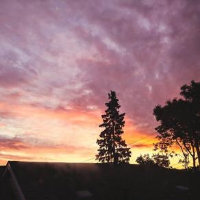 Beautiful sunrise this morning :)