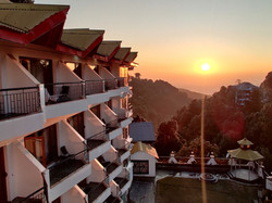 Sun-Set View from Hotel